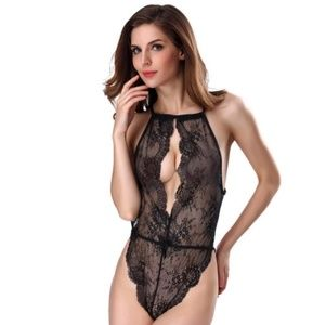 Other - Sexy Lace Lingere Teddy Black